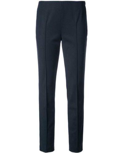 Синие брюки прямые Akris