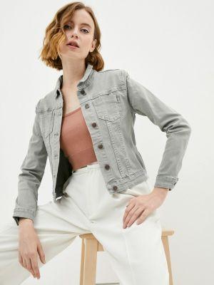 Серая джинсовая куртка Savage
