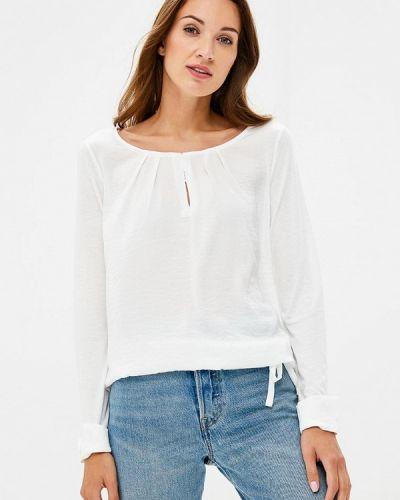 Белая блузка с длинным рукавом S.oliver
