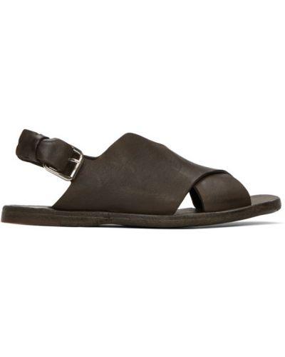 Sandały, brązowy Officine Creative