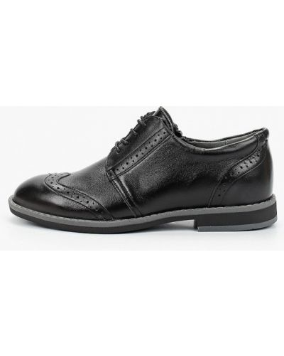 Кожаные черные туфли Shagovita