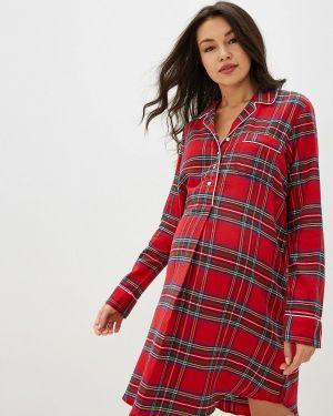 Платье для беременных красный осеннее Gap Maternity