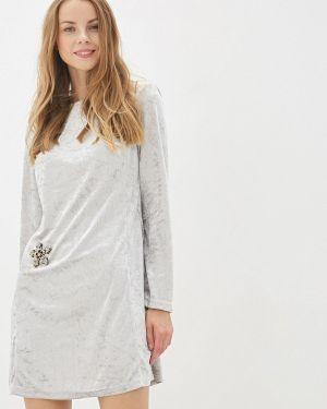 Вечернее платье - серебряное L1ft