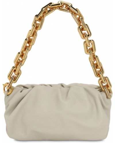 Кожаная сумка на цепочке с подкладкой Bottega Veneta