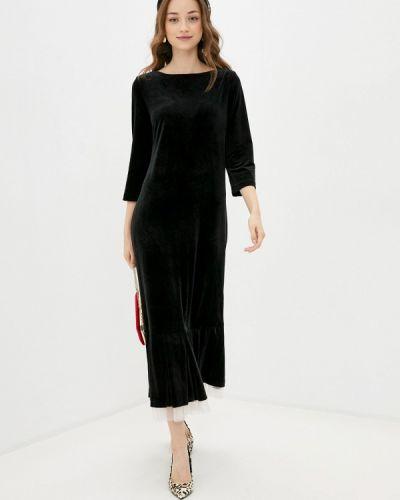 Черное вечернее платье Profito Avantage