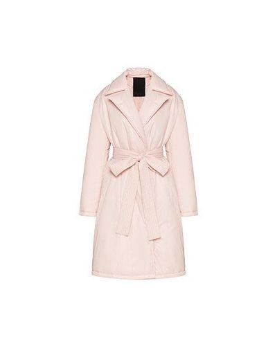 Розовое пальто тренч Valentino Red