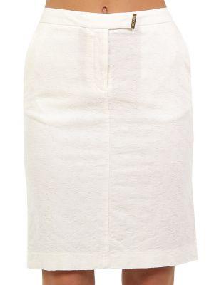 Хлопковая юбка - белая Cerruti 18crr81