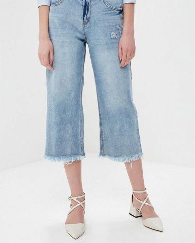 Голубые джинсы рваные Noisy May