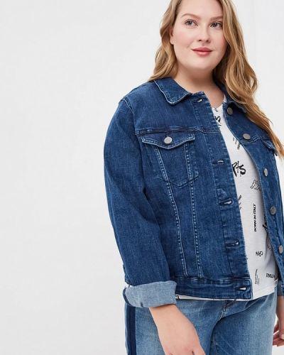 Синяя джинсовая куртка Junarose