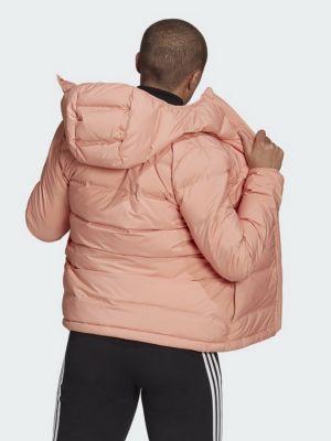 Куртка с капюшоном - розовая Adidas