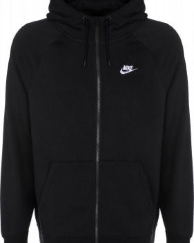 Толстовка на молнии - черная Nike