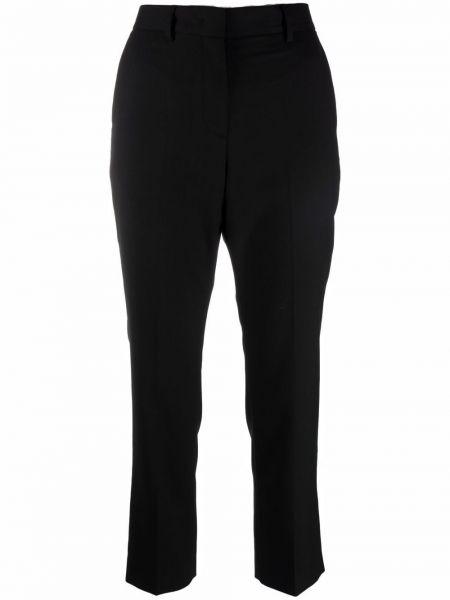 Укороченные брюки - черные Paul Smith