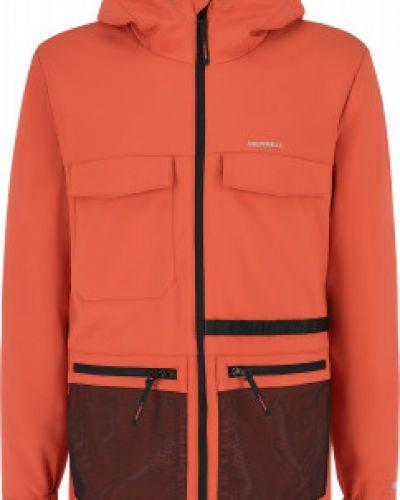 Оранжевая куртка осенняя Merrell