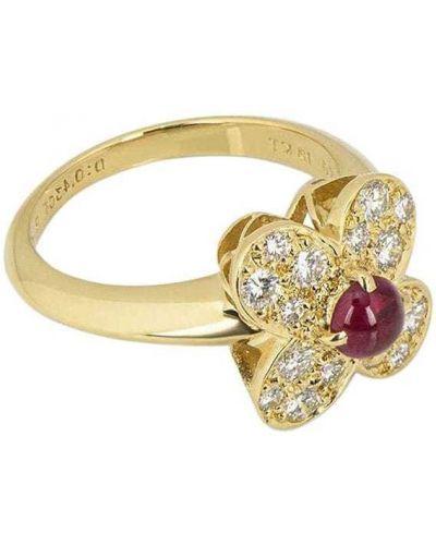 Кольцо с бриллиантом Van Cleef & Arpels