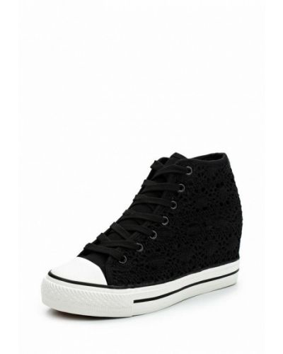 Высокие кеды на платформе демисезонный Ideal Shoes®
