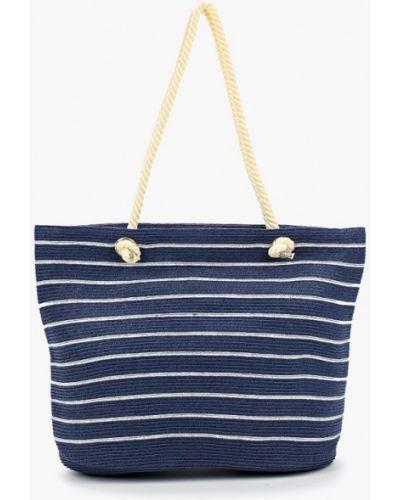 Синяя пляжная сумка Fabretti