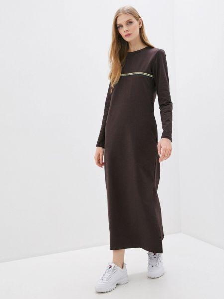 Коричневое платье Winzor
