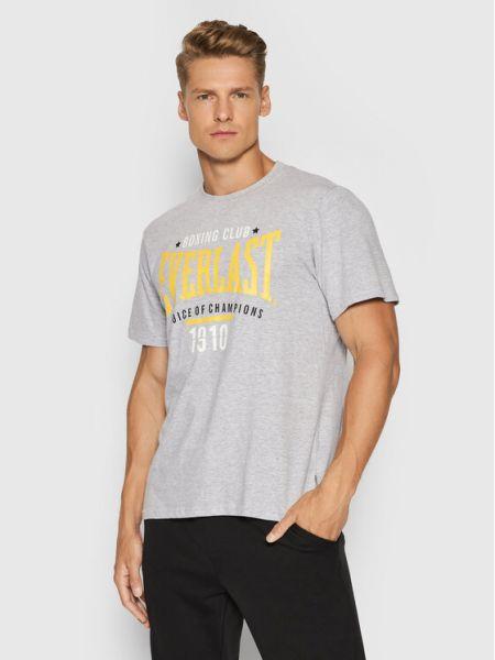 Szara t-shirt Everlast