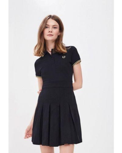 Черное платье весеннее Fred Perry