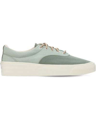 Кроссовки на шнуровке - зеленые Converse