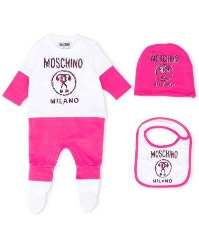 Пижама розовый Moschino Kids
