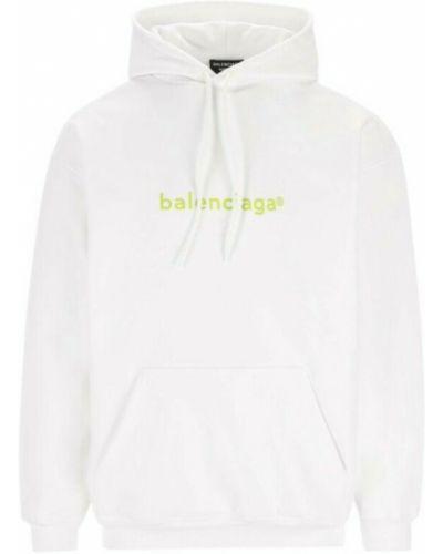 Bluza dresowa - biała Balenciaga