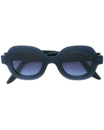 Солнцезащитные очки синий хаки Lapima