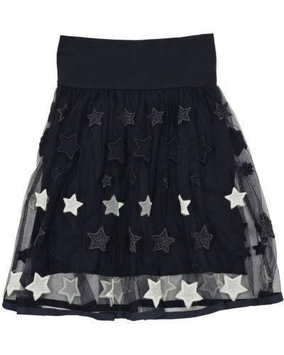 Трикотажная юбка миди Monnalisa
