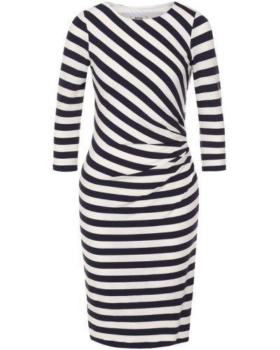 Платье в полоску приталенное Weill