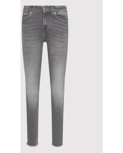Mom jeans - szare Vero Moda