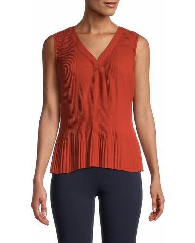 Оранжевый топ классический Calvin Klein