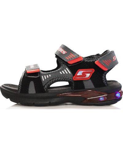 Сандалии на липучках спортивные Skechers