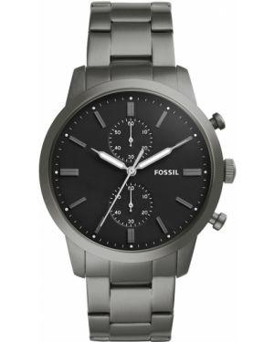 Zegarek szary czarny Fossil