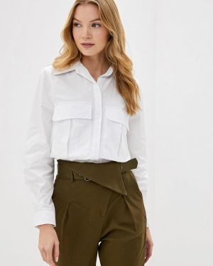 Блузка с длинным рукавом белая Dali