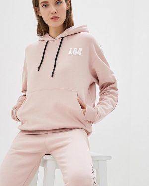 Розовое худи J.b4