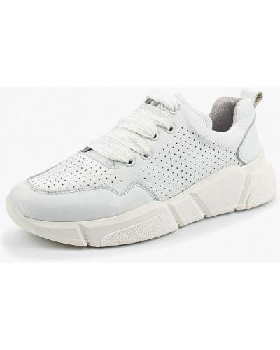 Белые кроссовки Bronx
