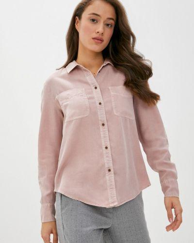 Розовая рубашка с длинными рукавами Marks & Spencer