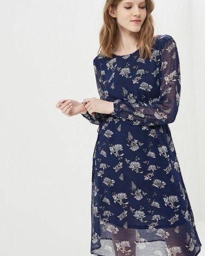 Платье синее Modis
