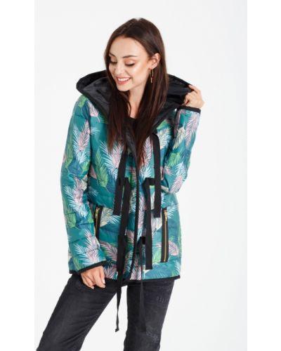 Куртка с капюшоном стеганая с карманами Naoko