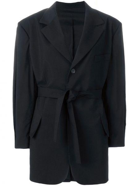 Пиджак черный шерстяной Nehera