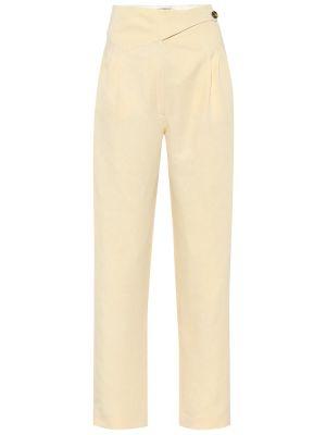 Льняные летние брюки с баской с короткими рукавами Blazé Milano
