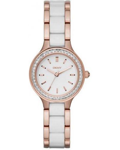 Biały zegarek Dkny