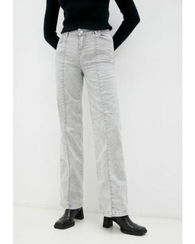 Широкие джинсы - серые Max&co