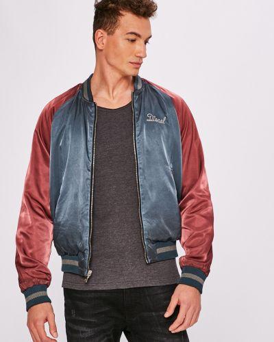 Утепленная куртка укороченная двусторонняя Diesel