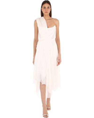 Белое платье свободного кроя из фатина Vivienne Westwood