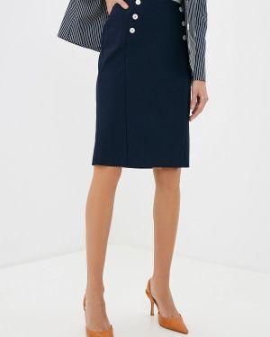 Платье прямое синее Gerry Weber