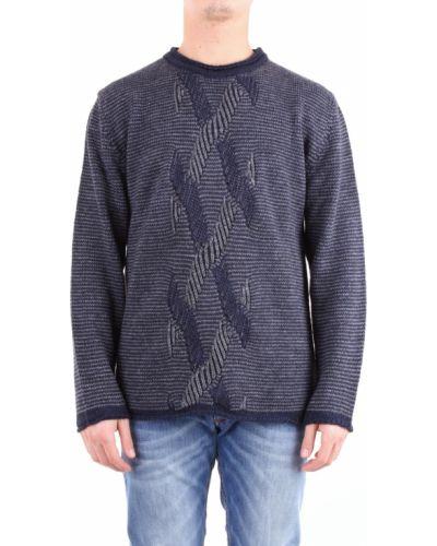 Szary sweter z haftem Bellwood