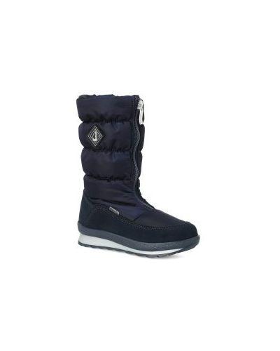 Зимние сапоги синие шерстяные Jog Dog