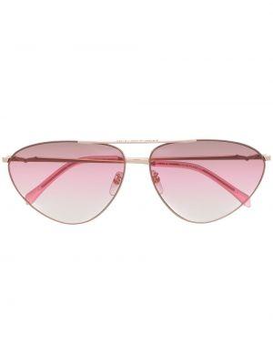 Złote różowe okulary Zadig&voltaire