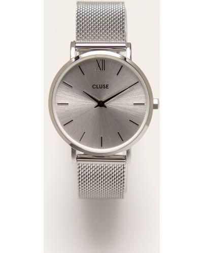 Кварцевые часы водонепроницаемые с круглым циферблатом Cluse